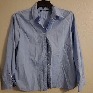 Lauren womens button down shirt